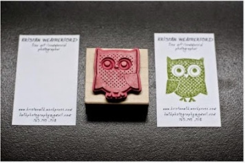 Creative business card ideas crafterholic if youve got your own creative blog or artcraft business handmade or embellished business cards are a great idea for making your card stand out from the colourmoves