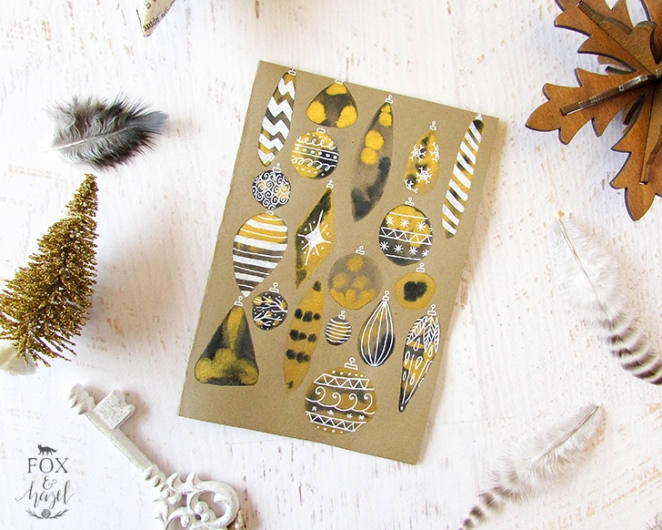 black-and-gold-ornament-cards