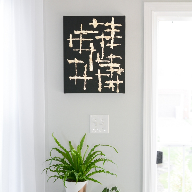 abstract-canvas-art-with-gold-leaf