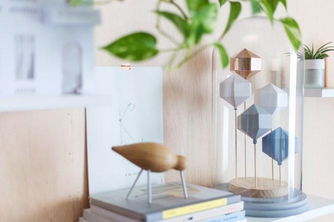 modern geometric sculpture