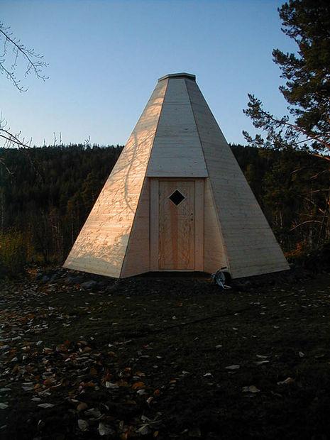 outdoor eskimo hut diy