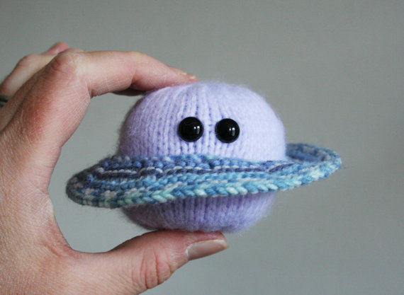 ButterflyLove1 - knitted flying saucer