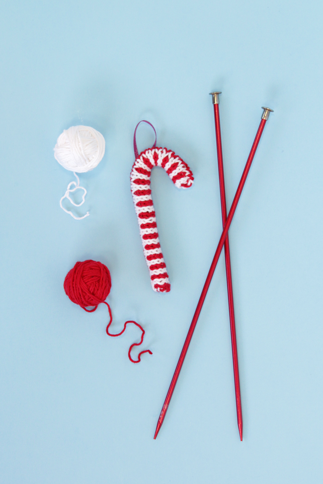 candy-cane knitting pattern