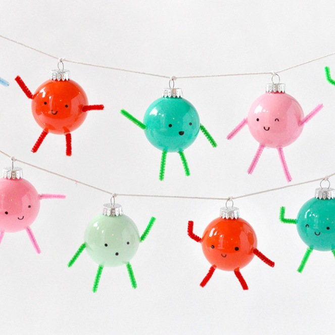 cute ornament garland