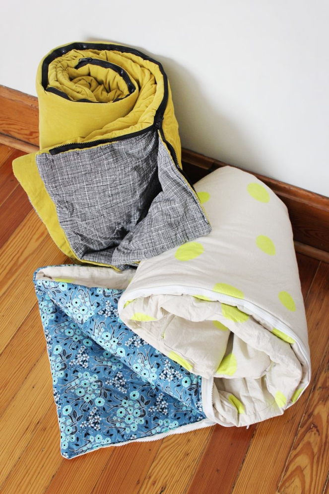 DIY-Sleeping-Bags