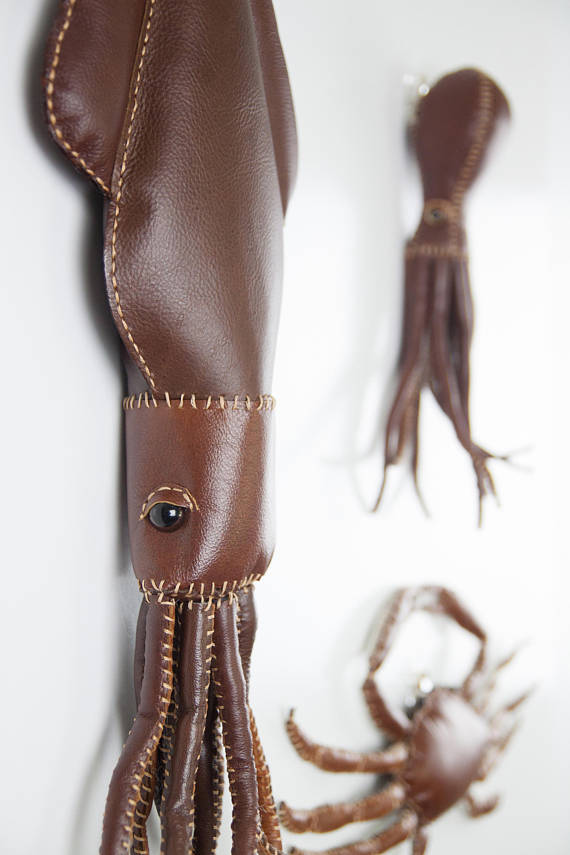Freda Made leather sea creatures 3