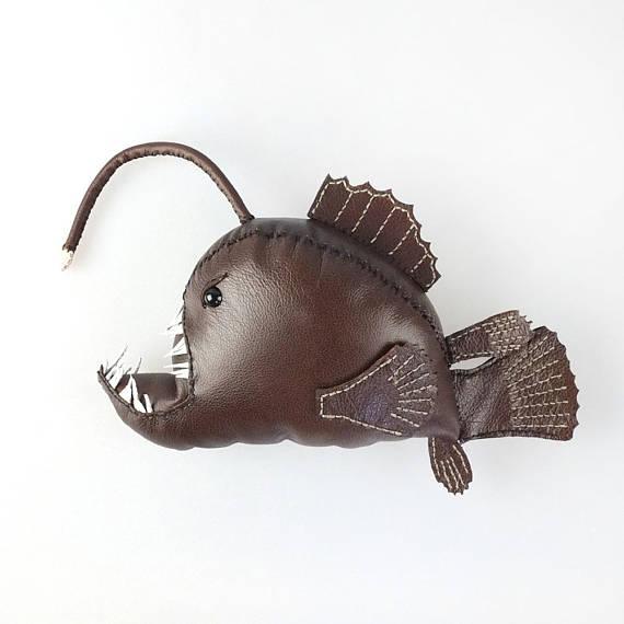 Freda Made leather sea creatures 5